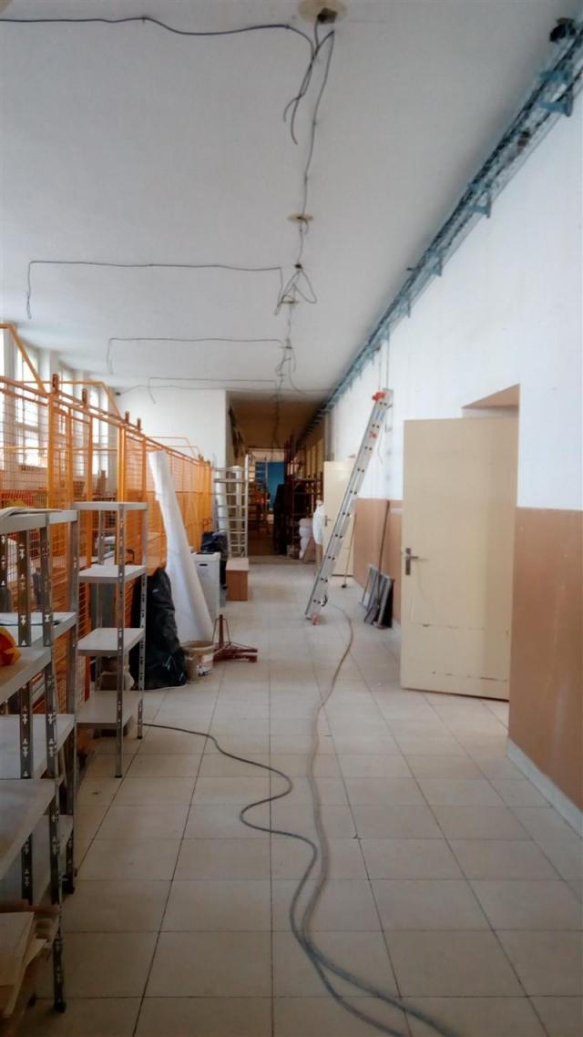 Oprava elektroinstalace ZŠ