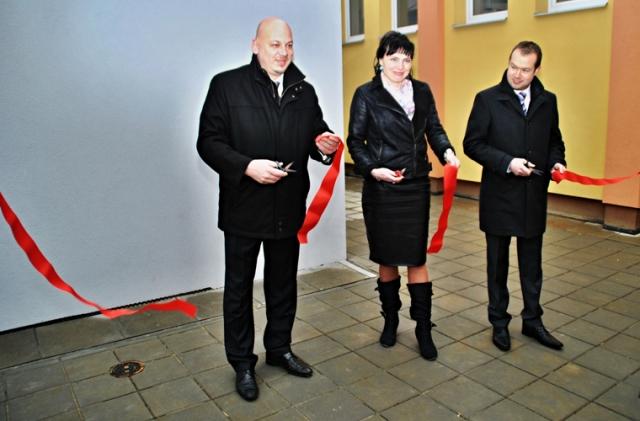 Otevírání nového pavilonu MŠ Slatina 01.03.2016