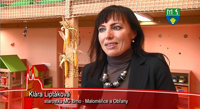 Otevření mateřské školky v Brně Maloměřicích 03.09 2012