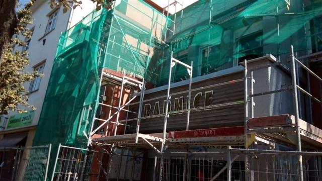 Rekonstrukce radniční fasády