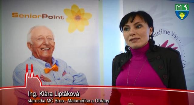 Otevření Senior Pointu v Brně Maloměřicích a Obřanech