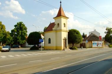 Kaple na Proškově náměstí v Brně-Maloměřicích