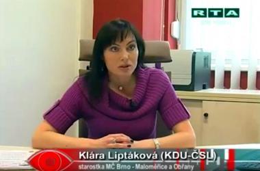 Klára Liptáková v pořadu Kdo je Kdo TV RTA