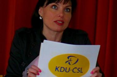 Představení nového loga KDU-ČSL spolustraníkům 14. 3. 2012