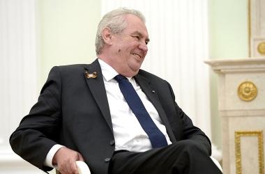 Miloš Zeman prezidentem