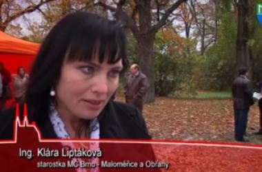Otevření lávky v Brně - Maloměřiích a Obřanech
