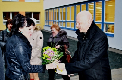 Otevírání nového pavilonu MŠ Brno Slatina 01.03.2016