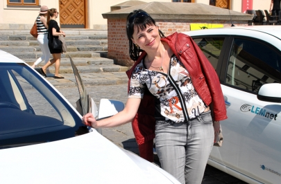 Elektromobily na Špilberku 07.05 2016