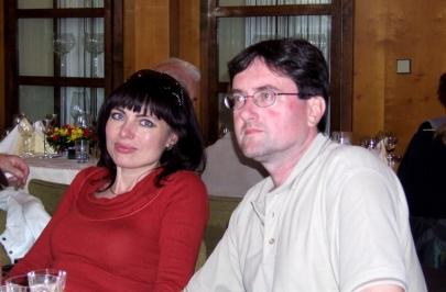 Klidné okamžiky s manželem a přáteli